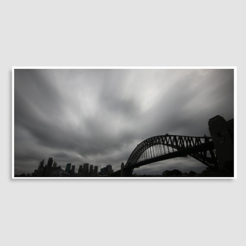 Sydney Opera and Harbour Bridge Door Poster | Artist : Gagandeep Singh
