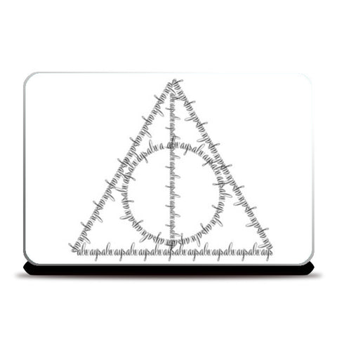 Laptop Skins, Harry Potter Deathly Hallows Laptop Skins | Artist : safira mumtaz, - PosterGully