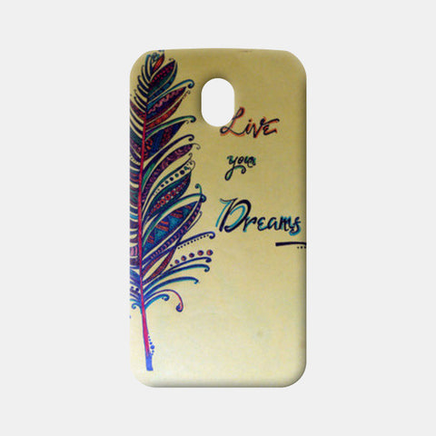 Dreams Moto G3 Cases | Artist : Kriti Pahuja