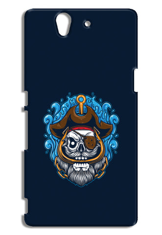 Skull Cartoon Pirate Sony Xperia Z Cases | Artist : Inderpreet Singh