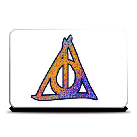 Laptop Skins, Deathly Hallows Harry Potter Laptop Skins | Artist : Dev Ballal, - PosterGully