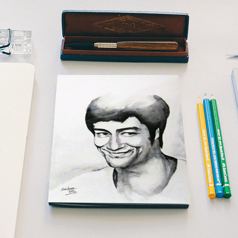Bruce Lee The Big Boss Notebook | Artist : Sunil Angral