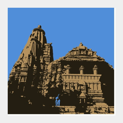 Ancient Temple Square Art Prints PosterGully Specials