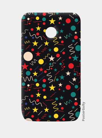 Seamless abstract pattern with geometric shapes Moto E Cases | Artist : Designerchennai