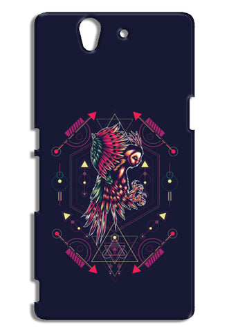 Owl Artwork Sony Xperia Z Cases | Artist : Inderpreet Singh