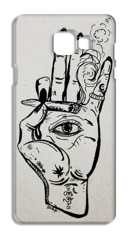 jai sambo Samsung Galaxy A7 2016 Cases | Artist : the scribble stories