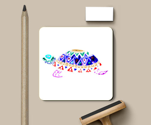 Coaster Turtle 3 Coasters | Artist : Navdeep Sharma