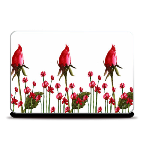 Laptop Skins, Rose Buds Laptop Skin l Artist: Seema Hooda, - PosterGully