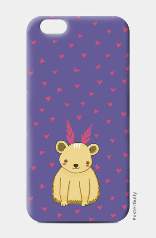 Cute Bear Pattern iPhone 6/6S Cases | Artist : Prajakta Rao