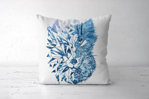 Game Of Thrones | Wolf Cushion Covers | Artist : Pragya Bhandari