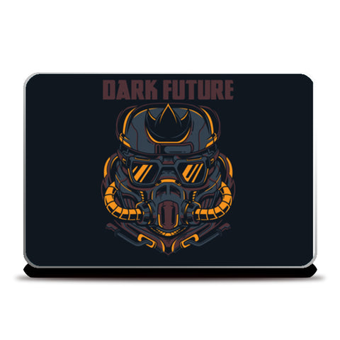 Dark Future Laptop Skins | Artist : Creative DJ