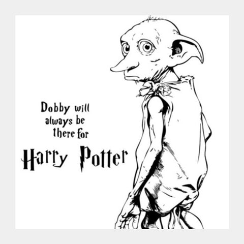 Square Art Prints, DOBBY LOVE! Square Art Prints | Artist : DISHA BHANOT, - PosterGully