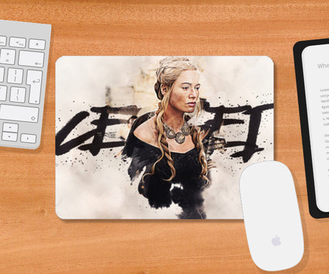 Cersei | Game of Thrones Digital Painting Mousepad | Artist : Gub Gub