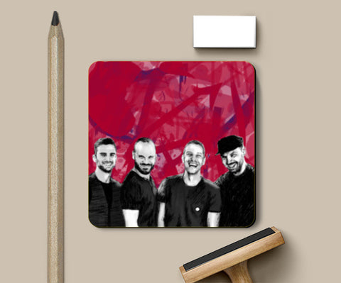 COLDPLAY Coasters | Artist : SREY