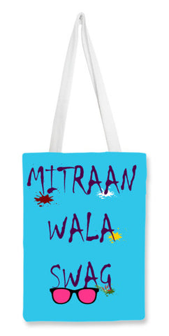 Swag Art Print Stylish Design  Tote Bags | Artist : Seema Hooda