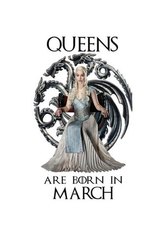 Game of Thrones | Queens | March | Targaryen Wall Art | Artist : Ardour Art