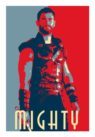 Thor: Mighty Wall Art PosterGully Specials