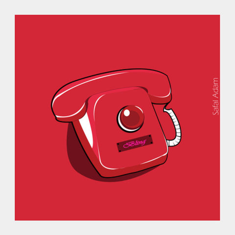 Square Art Prints, Hotline Bling Square Art Prints | Artist : Safal Adam, - PosterGully