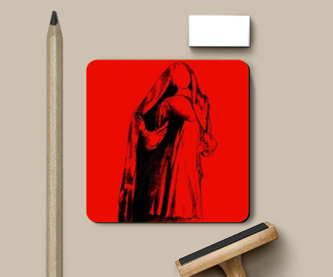Coasters, Lady in red! Coasters | Artist : madhura chalke, - PosterGully