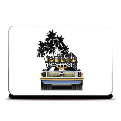 Laptop Skins, Muscle Car - Alpha Male Laptop Skins | Artist : Aditya Srinate, - PosterGully