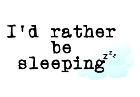 Wall Art, Rather be sleeping Wall Art  | Artist : safira mumtaz, - PosterGully