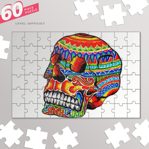colorful life (after death) Jigsaw Puzzles | Artist : amit kumar