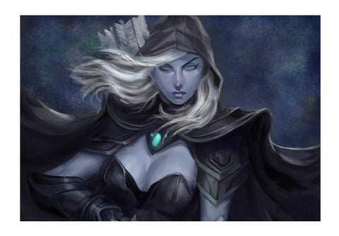 PosterGully Specials, Drow Ranger- Dota 2 Wall Art | Artist : Mohammed Chiba, - PosterGully