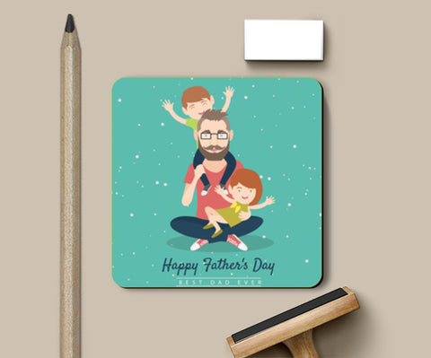 Kids Playing With Dad | #Father's Day Special  Coasters | Artist : Creative DJ