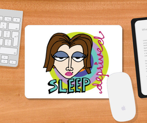Mousepad, Sleep Deprived Mousepad | Artist : The Stardust Story, - PosterGully