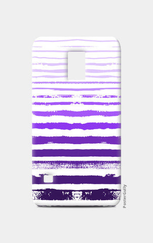Uneven Purple Stripes Samsung S5 Cases | Artist : Amantrika Saraogi