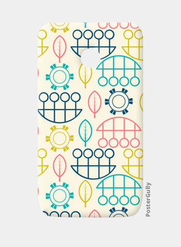 Multicolored art design vector pattern Moto E Cases | Artist : Designerchennai