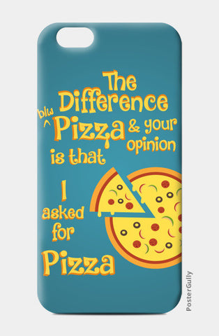 Pizza iPhone 6/6S Cases | Artist : Arif Ahmad
