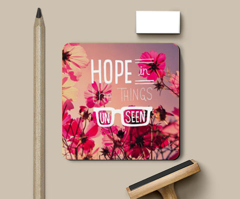 HOPE IS DOPE Coasters | Artist : Naman Kapoor