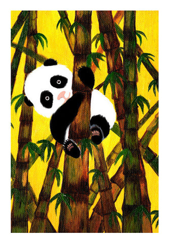 Baby Panda cuteness overload! Wall Art | Artist : Animal kingdom
