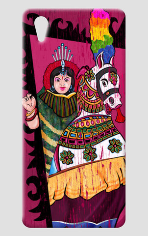 Folk Art | Poikaal Kudirai One Plus X Cases | Artist : Ramkumar Kolappan