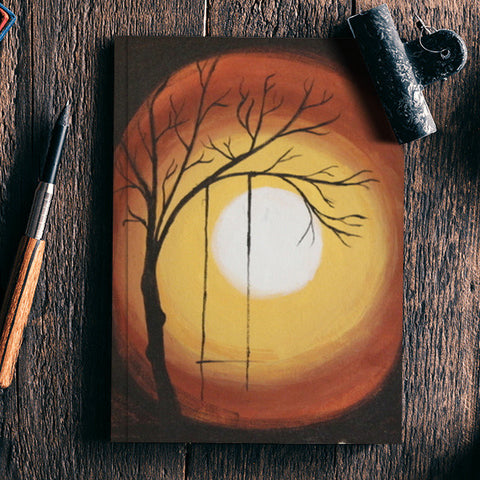 Lonely Tree Notebook | Artist : Swathy Suren