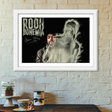 Premium Italian Wooden Frames, Bohemia Rooh Premium Italian Wooden Frames | Artist : Vikram Ghattora, - PosterGully - 6