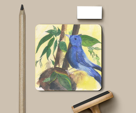 Coasters, Cadge Bird Coasters | Artist: Teena Chauhan, - PosterGully