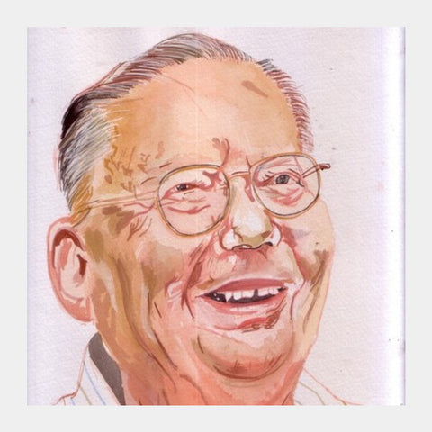 Ruskin Bond Is A Wonderful Writer Square Art Prints PosterGully Specials