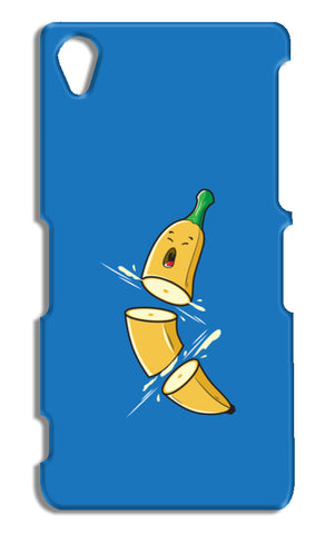 Sliced Banana Sony Xperia Z2 Cases | Artist : Inderpreet Singh