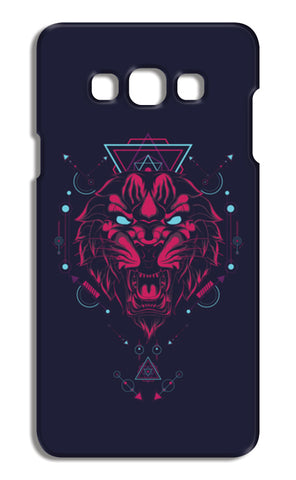 The Tiger Samsung Galaxy A7 Cases | Artist : Inderpreet Singh