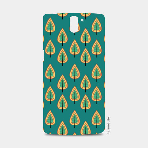 Leaf design pattern One Plus One Cases | Artist : Designerchennai