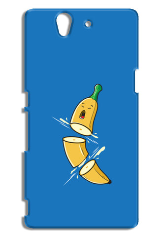 Sliced Banana Sony Xperia Z Cases | Artist : Inderpreet Singh