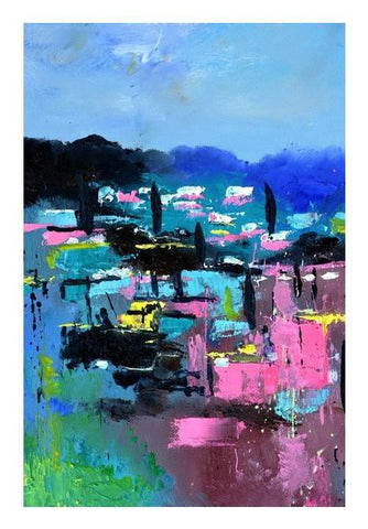 PosterGully Specials, Provence abstraite Wall Art | Artist : pol ledent, - PosterGully