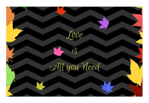 Love is All you need Wall Art  | Artist : Pallavi Rawal