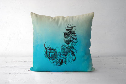 Feather Cushion Cover | Svayamkriti