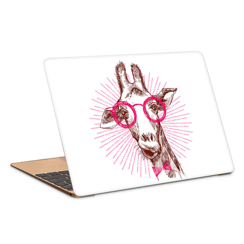 Geek Giraffe Artwork Laptop Skin