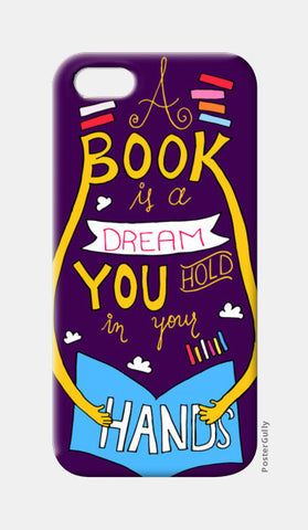 Book is a Dream iPhone 5 Cases | Artist : Shweta Paryani