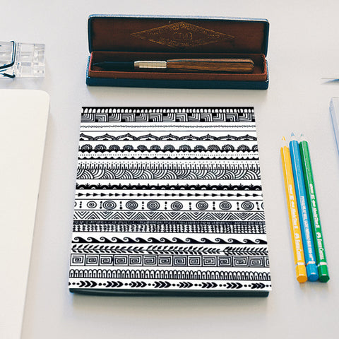 aztec Notebook | Artist : The Doodler dentist
