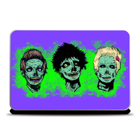 zombie greenday Laptop Skins | Artist : Scribbles